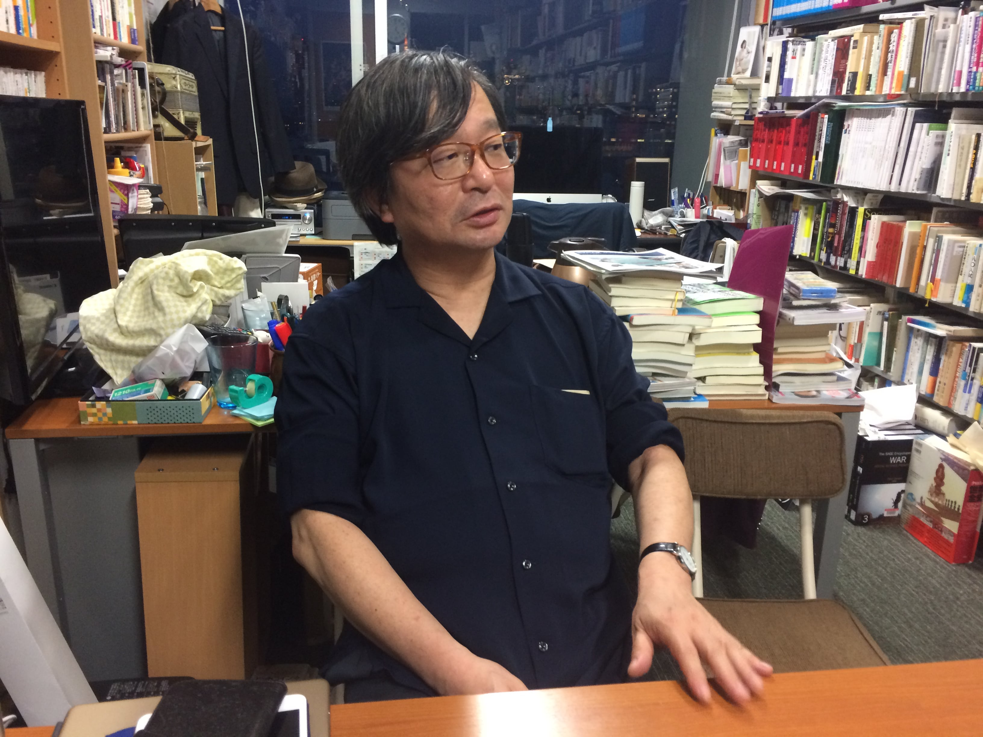 Stock(ストック)インタビュー野村一夫教授写真